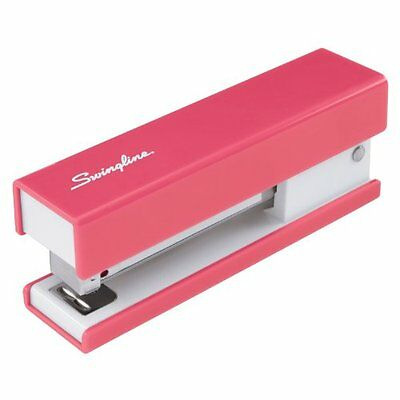 NEW Swingline Fashion Stapler  Solid Color  Pink (S7087825)