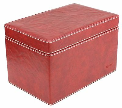 OnTouch Inc. 150 CD Storage Cabinet, Model CDB-150, Brand New In Box, (RED)
