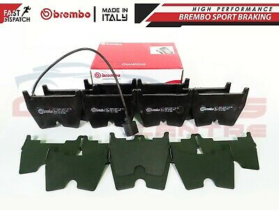 For Rs3 Rsq3 Quattro Tt 2.5 Turbo Front Genuine Brembo Brake Pads Set & Sensor