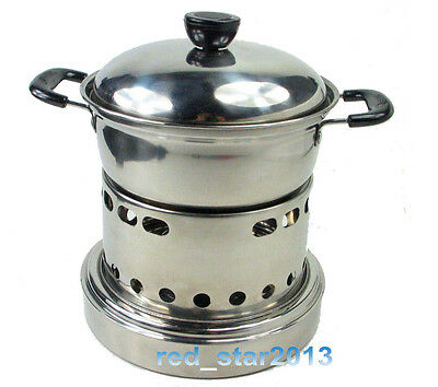New Hiking Cooking Camping&Survival Hunting Solid Alcohol Burner Camp Cook Stove