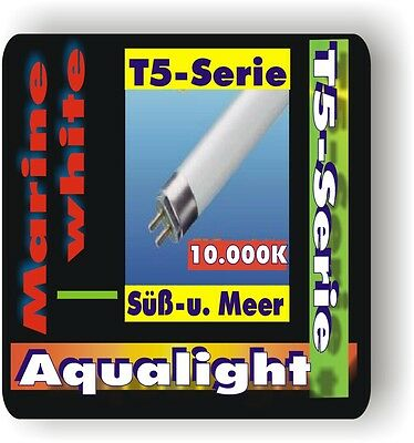 Aqualight Aquarium T5 Neonröhre Süß+See 10.000K 4 Watt • EUR 8,91