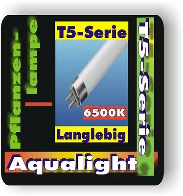 Aqualight Aquarium T5 Neonröhre f Pflanzen 6500K 6 Watt