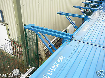 Shipping Container 20Ft 40Ft Outrigger Kit Pairs- Double Stack Offset Save Space