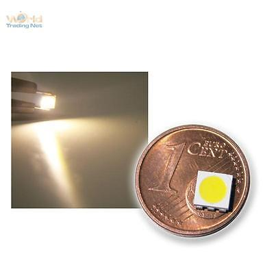 10x SMD POWER LED 5050 3-Chip WARMWEISS - warm-weiße SMDs LEDs white, blanch SMT