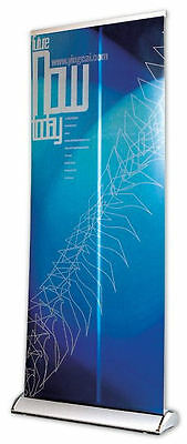 Printed Deluxe Self-stand/Roller Banner Pop Up/Pull up Exhibition Display Stand