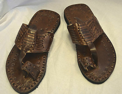 HANDMADE MOROCCAN LEATHER SANDALS slippers