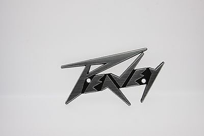 "PEAVEY Plastic Logo Badge 4.5"" - Text"