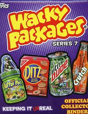 Wacky Packages Series 7 Card Album