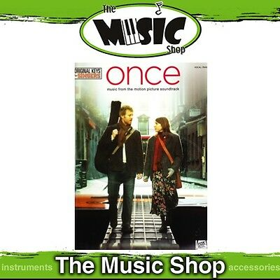 New Once Soundtrack Music Book for Vocal & Piano - Original Keys for Singers
