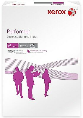A4 Xerox 80Gsm Performer Paper (100 Sheets)  -  Great Product + Free P&p!