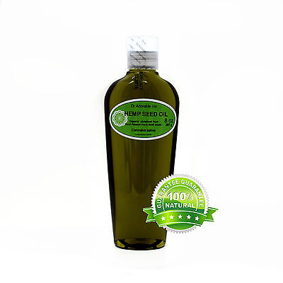 Pure Virgin Hemp Seed Oil bu Dr.Adorable 2 oz up to gal  Unrefined Cold Pressed