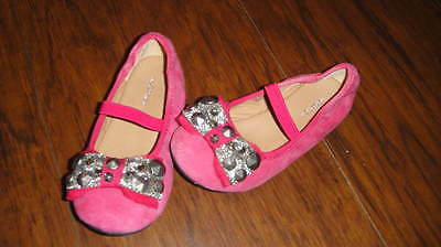 bc59f92f9a7 NORDSTROM 7.5M 7.5 Pink Bow Shoes Toddler Girl -  44.99