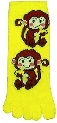 Monkey (TK009) Kid Toe Socks New Gift Fun Unique Cute