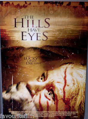 Cinema Poster: HILLS HAVE EYES, THE 2006 (Main One Sheet) Aaron Stanford
