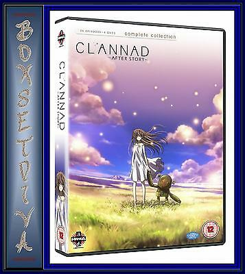 Clannad After Story - Complete Series Collection **Brand New Dvd **