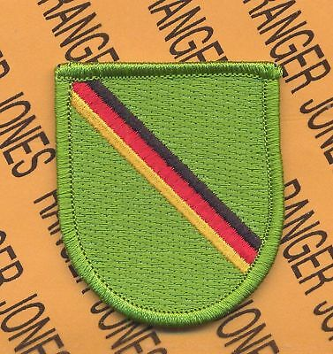 1st Bn 10th Special Forces Airborne Det. Europe beret flash patch A