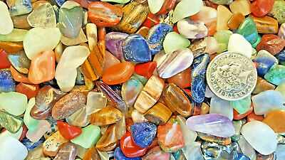100grms  Mixed Best Mix Healing Crystals Tumble Stones Chakra Gemstones Mineral