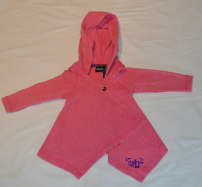 Hurley Girls Hoodie - PINK- Size 6 MONTHS- NEW