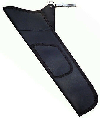 New Traditional Synthetic Black Side Hip Quiver Archery Products Saq-111.