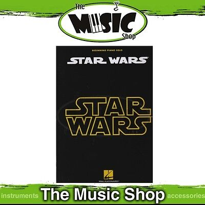 New Star Wars Music Book - Beginning Piano Solo