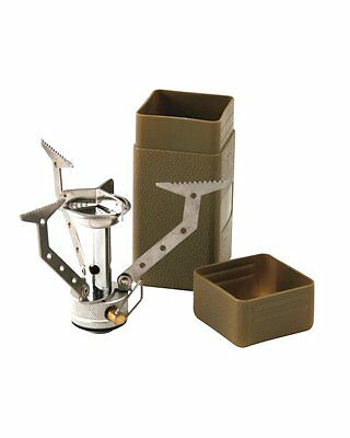 Commando Compact Cooking Stove Camping Cooker Army Military SAS Cadet