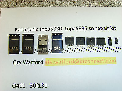 Panasonic Tnpa5335 Sc Repair Kit Txp50Vt30 Txp50Gt30 Txp50St30 (Pan Kit 0011)