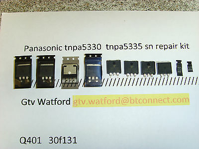 PANASONIC TNPA5330 sn REPAIR KIT TXP42G30 TXP42GT30 (PAN KIT 0011) GENUINE PARTS