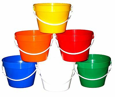 50 1 Gallon Buckets Mix of Colors  Made in America Lead Free No BPA Durable