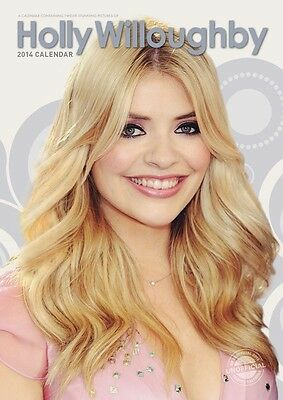Holly Willoughby 2014 Large Size Wall Calendar Brand New And Factory Sealed