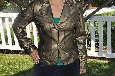 Wholesale leather jackets, metallic colors, machine washable, women many designs