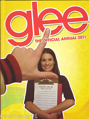 GLEE ~ THE OFFICIAL ANNUAL 2011 Corey Monteith NEW 1st Ed HC 2010