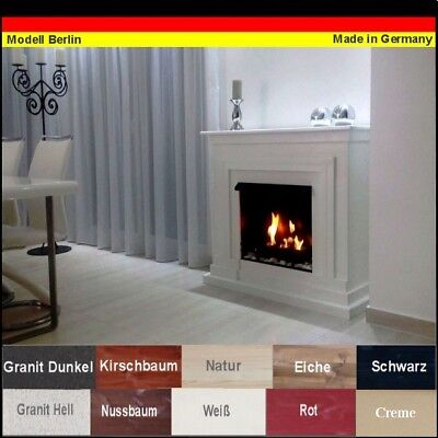 Ethanol Cheminee Fireplace Caminetto Camino Berlin Premium Choisissez la couleur
