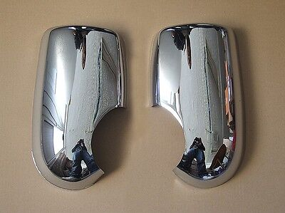 Chrome Mirror Covers Set For Ford Transit 2000- Mk6 Mk7