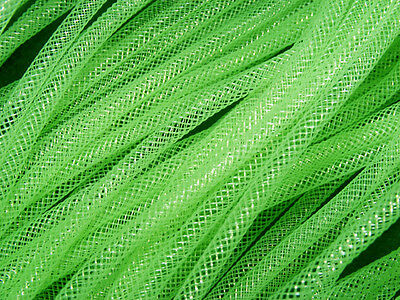 4mm SKINNY TUBULAR CRIN NEON GREEN CYBERLOX DREADS 5 METRES GIFT WRAPPING