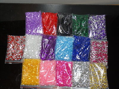 Wedding Table Diamonds Scatter Confetti Crystals Favour Decoration