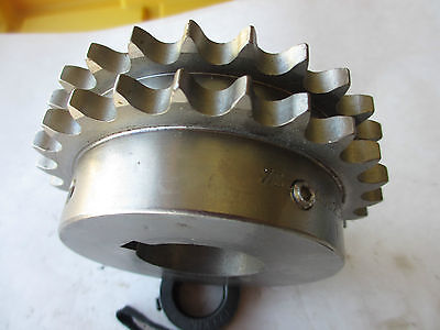 Martin Sprocket & Gear 40B25HSS 1 1/2, 40B25 H SS, Stainless Steel