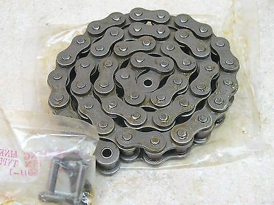 """Roller Chain,  60-Hr,  Single Strand,  37 1/2"""" Long,  With Connector Link"""