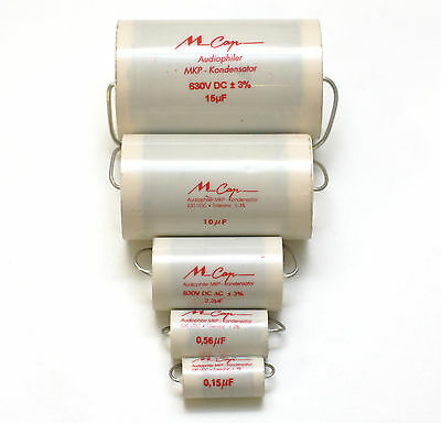 1 pair (2pcs) of Mundorf MCap630 Capacitors 3% 630V (all values)