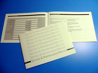 Daewoo Service Book  New Unstamped History Maintenance Record - Free Postage