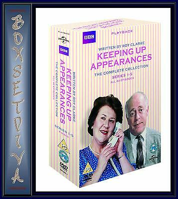 Keeping Up Appearances -Complete Collection Series 1 2 3 4 & 5 *Brand New Dvd **