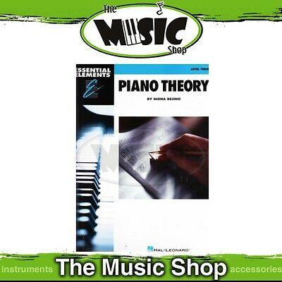 New Essential Elements Piano Theory Level 3 Music Tuition Book