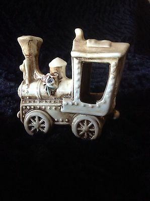 Capodimonte Porcelain Train Made In Italy