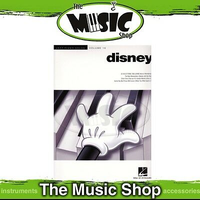 New Jazz Piano Solos Disney Music Book - Volume 16 - Piano Tuition