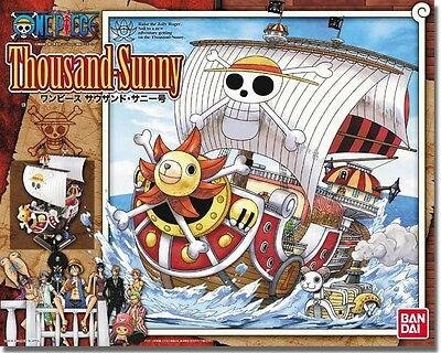 BANDAI ONE PIECE MODEL KIT MG MASTER GRADE PIRATE SHIP THOUSAND SUNNY NEW