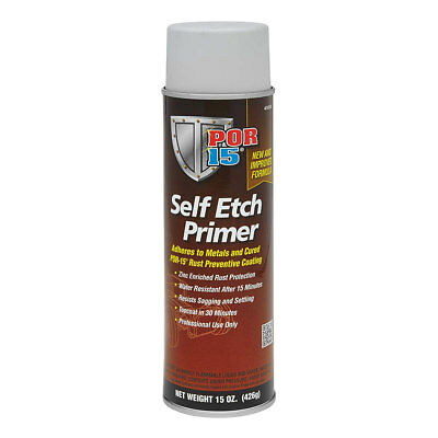 POR-15 Self-Etching Primer (15 oz) 41018 **Can be topcoated in 15-30 minutes!**
