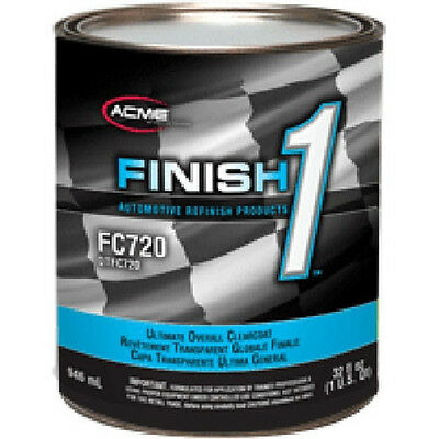 Sherwin Williams Finish 1 Ultimate Clearcoat FC720 (1 gal) & Finish 1 Hardener
