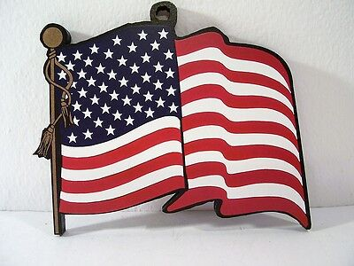 American Flag Stars And Stripes Ornament Shelia's Collectible