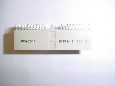 Erni 923190 Backplane 154-Pin Press-Fit Connector New Lot Quantity-5