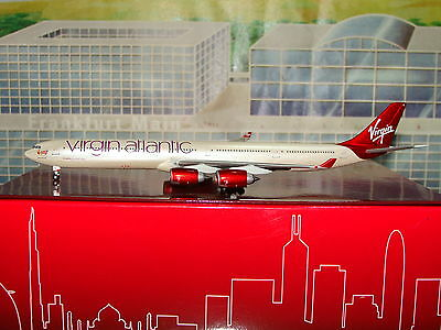 Exclusive Gemini Jets Virgin Atlantic A340 -600 G-VEIL Current 1/400 *Free S&H*