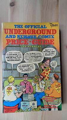 Rare The Official Underground and Newave Comix Price Guide  Jay Kennedy
